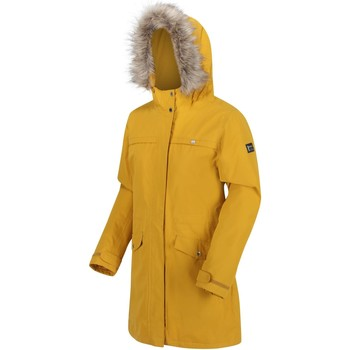 Clothing Women Parkas Regatta SERLEENA II Yellow
