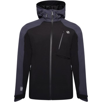 Clothing Men Macs Dare 2b DILUENT III Waterproof Technical Jacket Black