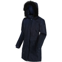 Clothing Women Parkas Regatta LEXIS Blue