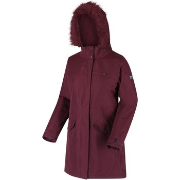Clothing Women Parkas Regatta SERLEENA II Burgundy