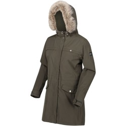 Clothing Women Parkas Regatta SERLEENA II Burnt Tikka Green Green