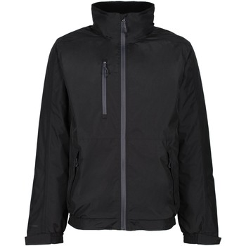 Clothing Men Macs Professional HONESTLY MADE Waterproof Insulated Bomber Jacket Navy Black Black
