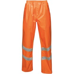Clothing Men Trousers Professional HIVISPRO Overtrousers Packaway Orange