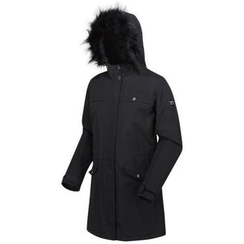Clothing Women Parkas Regatta SERLEENA II Burnt Tikka Black Black