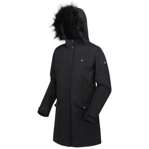 Clothing Women Parkas Regatta SERLEENA II Black