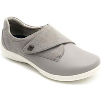 Shoes Women Low top trainers Padders Viola Womens Riptape Fastening Shoes grey
