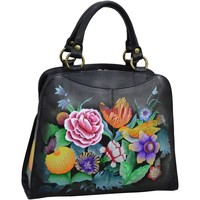 Bags Women Shoulder bags Anuschka 647 Vintage Bouquet -Hand Painted Leather Multicolour