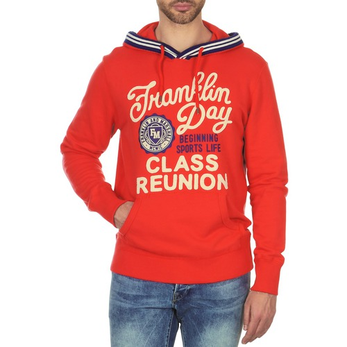 Clothing Men sweaters Franklin & Marshall GOSFORD Orange