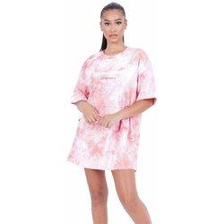 Clothing Women Short Dresses Sixth June Robe femme  Tie and dye rose