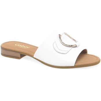 Shoes Women Mules Gabor Fresh Womens Mule Sandals white