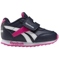 Shoes Children Low top trainers Reebok Sport Royal CL Jogger White, Black, Pink