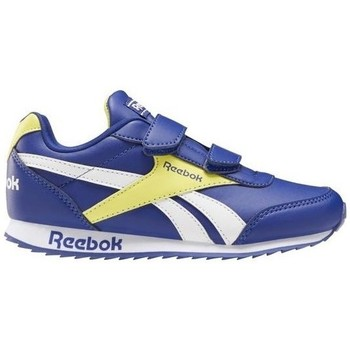 Shoes Children Low top trainers Reebok Sport Royal CL Jogger White, Blue, Yellow