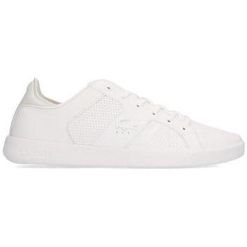 Shoes Men Low top trainers Lacoste Novas White
