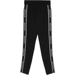 Clothing Women Tracksuit bottoms Sixth June Legging  bande imprimée noir/blanc