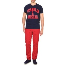 Clothing Men Chinos Franklin & Marshall GLADSTONE Red