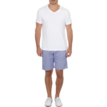 Clothing Men Shorts / Bermudas Franklin & Marshall GAWLER Blue / BEIGE