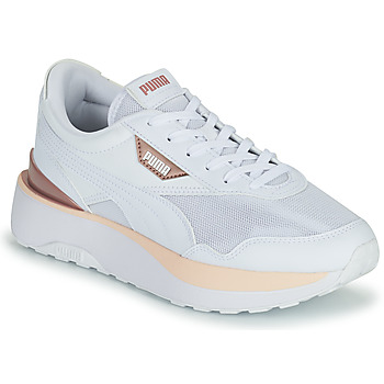 Shoes Women Low top trainers Puma CRUISE RIDER White / Beige