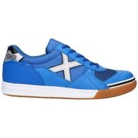 Shoes Men Low top trainers Munich G-3 INDOOR 3111136 Blue