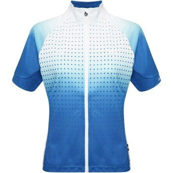Clothing Women Short-sleeved t-shirts Dare 2b AEP PROPELL Cycling Jersey Dragonfly Green Blue Blue