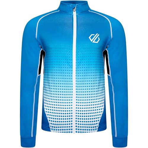 Clothing Men Track tops Dare 2b AEP VIRTUOSITY Long-Sleeved Cycling Jersey Black Gradient  Blue Blue