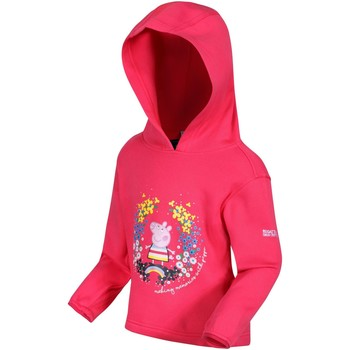Clothing Children Sweaters Regatta PEPPA HOODY Fleece Bright Blush Pink Pink