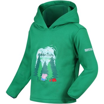 Clothing Children Sweaters Regatta PEPPA HOODY Fleece Bright Blush Green Green