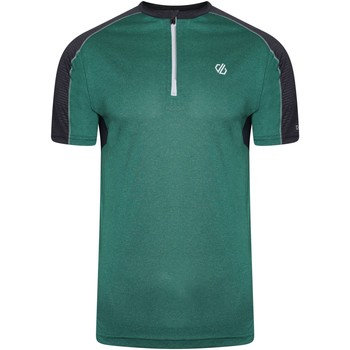 Clothing Men Short-sleeved t-shirts Dare 2b ACES II Technical Jersey Ash Grey Marl Ebony Green Green