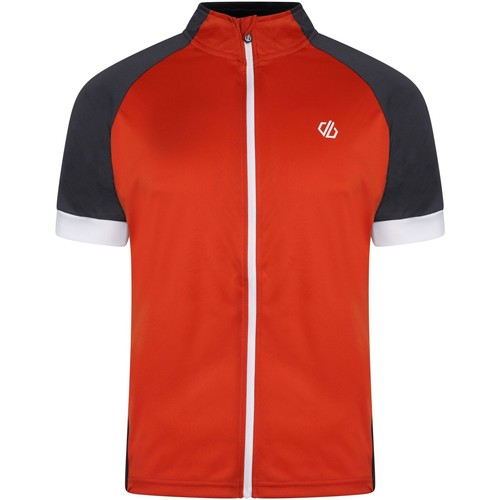 Clothing Men Short-sleeved t-shirts Dare 2b PROTRACTION Technical Cycling Jersey Red