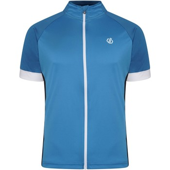 Clothing Men Short-sleeved t-shirts Dare 2b PROTRACTION Technical Cycling Jersey Blue