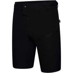 Clothing Men Shorts / Bermudas Dare 2b DURATION Water-Repellent Technical Shorts Trail Blaze Red Black Black