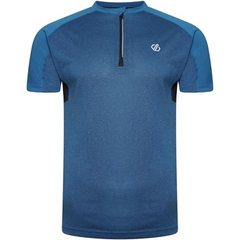 Clothing Men Short-sleeved t-shirts Dare 2b ACES II Technical Jersey Ash Grey Marl Ebony Blue Blue