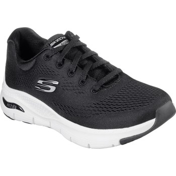 Shoes Women Walking shoes Skechers 149057-BKW-030 Arch Fit Sunny Outlook Black and White