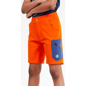 Clothing Children Shorts / Bermudas Dare 2b REPRISE Lightweight and Technical Shorts Petrol Blue  Orange Orange