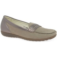 Shoes Women Loafers Waldläufer Trio Womens Moccasins BEIGE