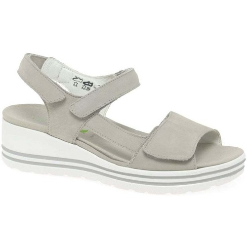 Shoes Women Sandals Waldläufer Maura Womens Wedge Heel Sandals BEIGE