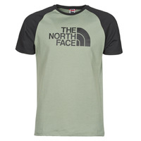 Clothing Men Short-sleeved t-shirts The North Face S/S RAGLAN EASY TEE Green