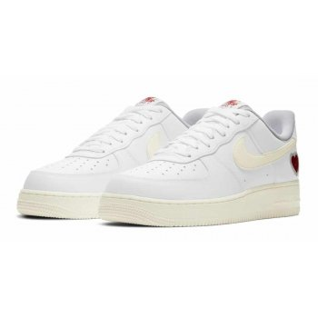 Shoes Low top trainers Nike Air Force 1 Low Valentines Day White/Sail-University Red