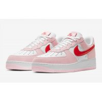 Shoes Low top trainers Nike Air Force 1 Low Love Letter Tulip Pink/University Red-White