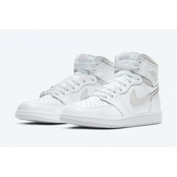 Shoes Hi top trainers Nike Air Jordan 1 High 85 Neutral Grey White/Neutral Grey