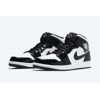Shoes Hi top trainers Nike Air Jordan 1 Mid All Star Carbon Fiber Black/White