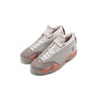 Shoes Low top trainers Nike Air Jordan 14 Low x CLOT Sepia Stone Sepia Stone/Terra Blush/Desert Sand