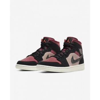 Shoes Hi top trainers Nike Air Jordan 1 Mid Canyon Rust Canyon Rust/Sail/Black/Light Pink