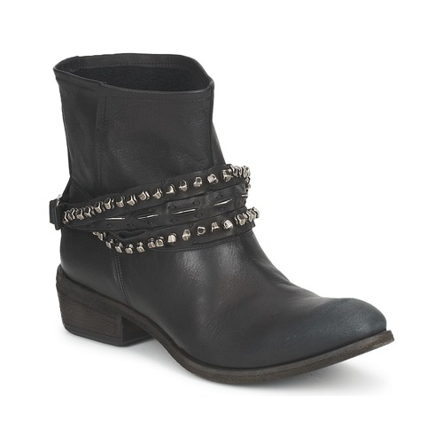 Shoes Women Mid boots Strategia GRONI Black