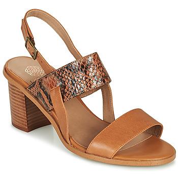Shoes Women Sandals Karston LIMEY Camel