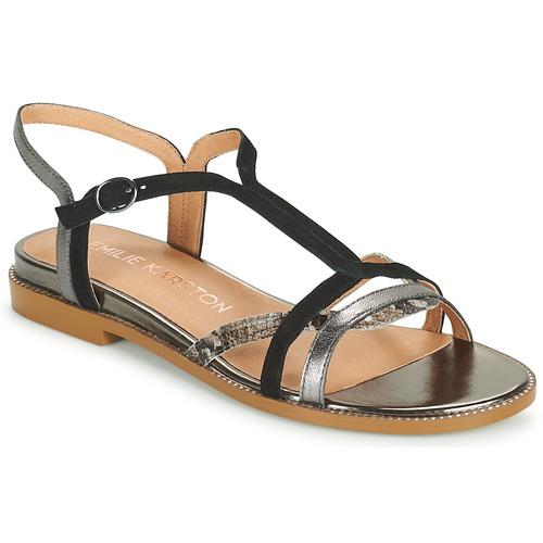 Shoes Women Sandals Karston SOBIO Black