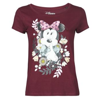 Clothing Women Short-sleeved t-shirts Yurban OHJAVE Bordeaux
