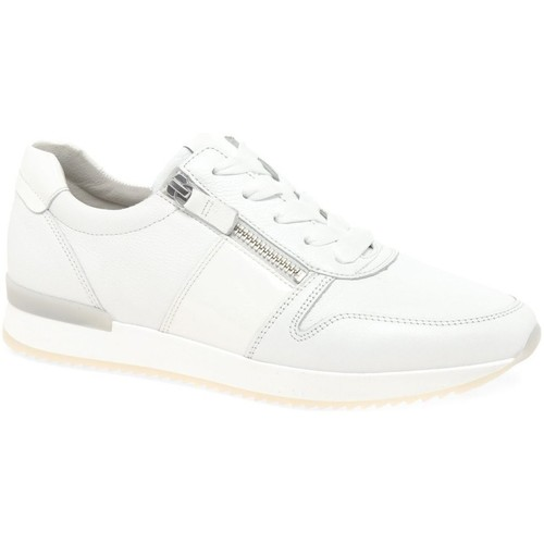 Shoes Women Low top trainers Gabor Lulea Womens Casual Trainers white