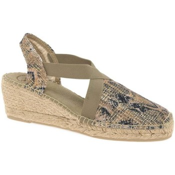 Shoes Women Espadrilles Toni Pons Terra Womens Wedge Heel Espadrille Sandals BEIGE