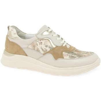 Shoes Women Heels Waldläufer Rosan Womens Trainers BEIGE
