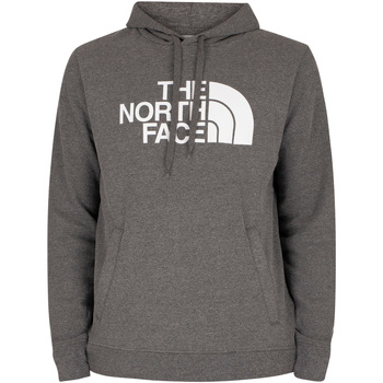 Clothing Men Sweaters The North Face Half Dome Pullover Hoodie grey